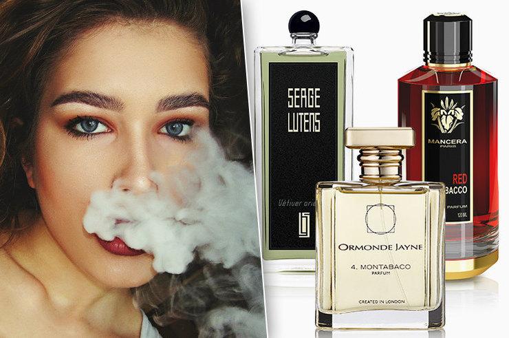 какой должен быть парфюм для курящих